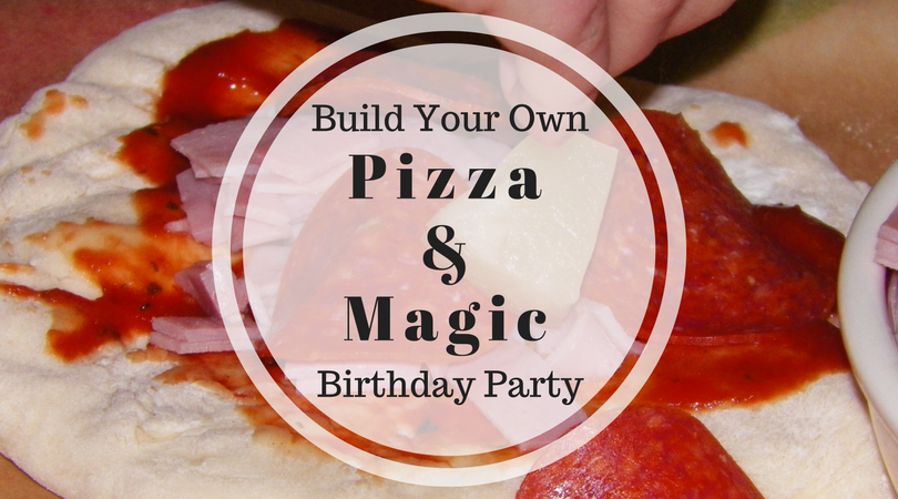 How About a Pizza Party Magic Show?